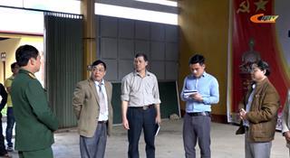 Quảng Uyên: Kiểm tra khu cách ly chuẩn bị tiếp nhận công dân Việt Nam trở về từ Trung Quốc