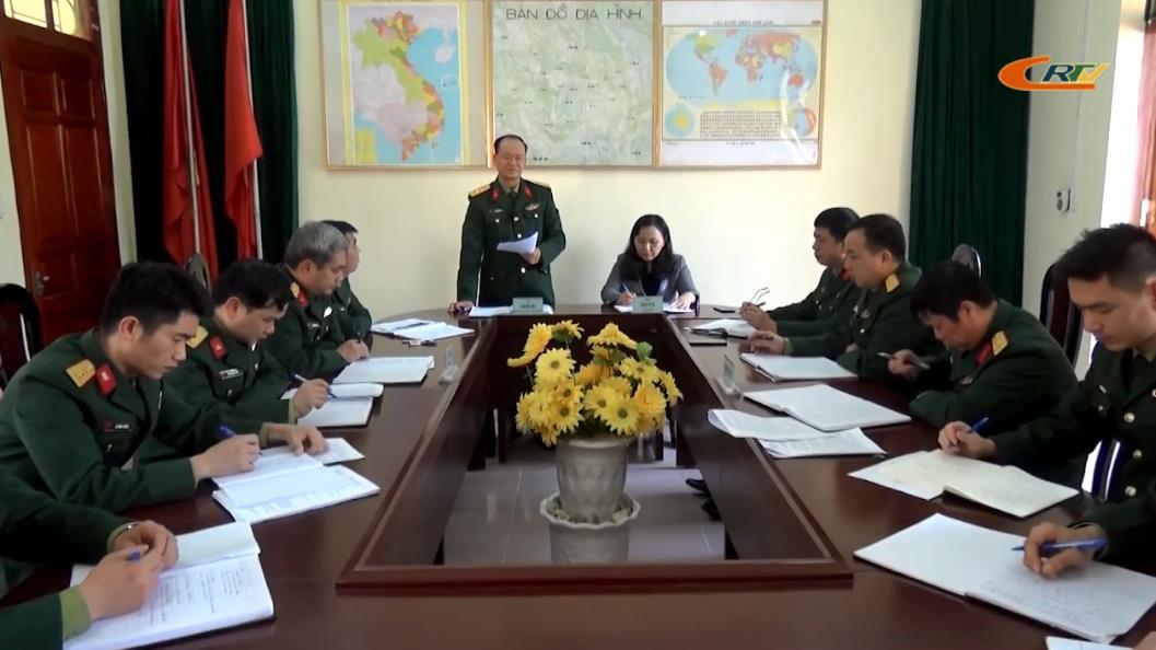Bộ CHQS tỉnh: Kiểm tra công tác quốc phòng quân sự tại các địa phương
