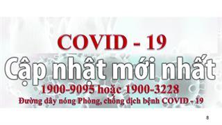 Thống kê tình hình dịch bệnh COVID-19 tính đến 14 giờ ngày 17/2