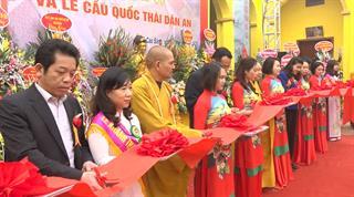 Khánh thành phục dựng chùa Phố Cũ