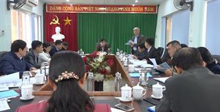 Hòa An: Thẩm định dự thảo cuốn Lịch sử Đảng bộ xã Nam Tuấn và Đảng bộ xã Bình Long