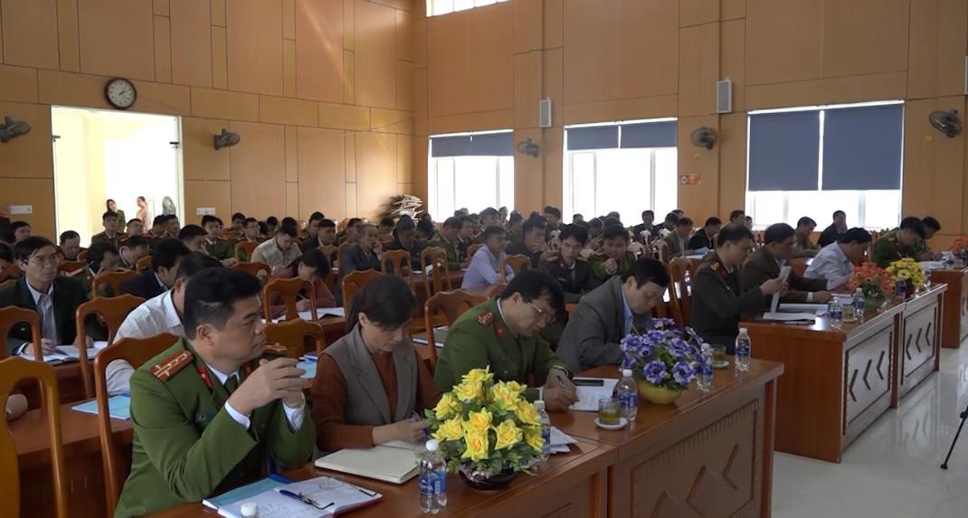 """Quảng Uyên: Triển khai phong trào """"Toàn dân bảo vệ an ninh Tổ quốc"""" năm 2020"""