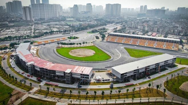 Hoãn chặng đua xe Công thức 1 tại Hà Nội