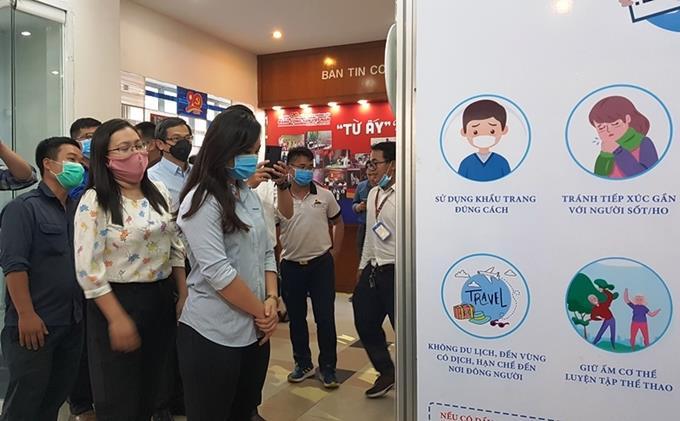 Tp Hồ Chí Minh: Ra mắt buồng khử khuẩn toàn thân hạn chế lây lan và phòng chống dịch Covid-19