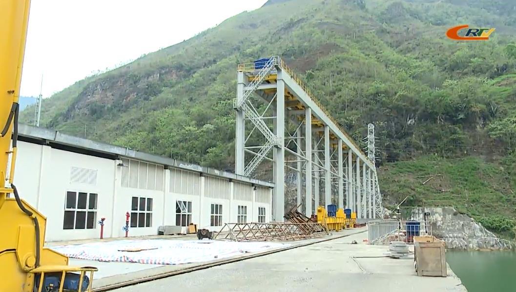 Nhà máy Thủy điện Mông Ân khẩn trương thi công tổ máy số 2