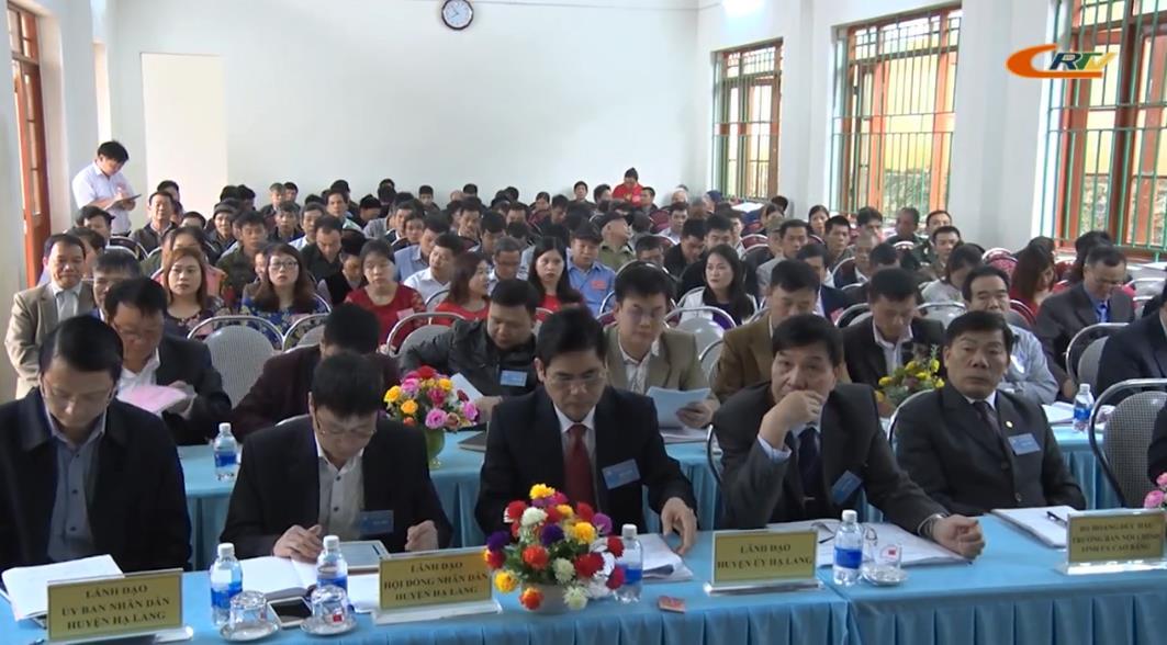 Hạ Lang: Đại hội đại biểu Đảng bộ xã Cô Ngân lần thứ XVI, nhiệm kỳ 2020 - 2025