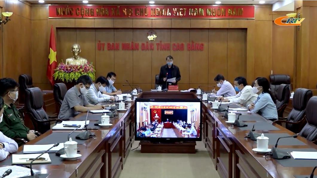 Chủ tịch UBND tỉnh Hoàng Xuân Ánh: Các cấp, ngành quyết liệt thực hiện đợt cao điểm phòng, chống dịch Covid-19
