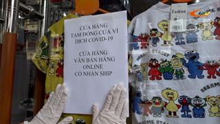 Các cơ sở kinh doanh, dịch vụ đóng cửa để phòng, chống dịch Covid-19