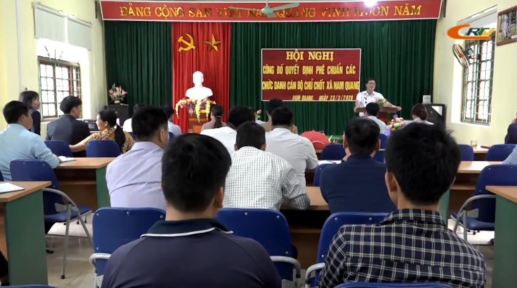 Xã Nam Quang tăng cường hoạt động hiệu lực, hiệu quả sau sáp nhập