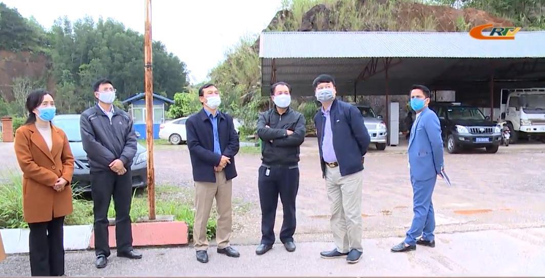 Phó Chủ tịch UBND tỉnh Nguyễn Trung Thảo khảo sát các địa điểm trưng dụng làm khu cách ly y tế tập trung