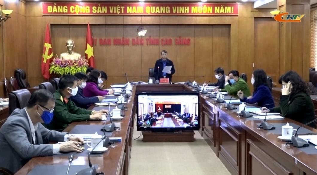Chủ tịch UBND tỉnh Hoàng Xuân Ánh: Các cấp, ngành, địa phương tiếp tục tuyên truyền Chỉ thị 16 của Thủ tướng Chính phủ để người dân hiểu đúng về cách ly xã hội