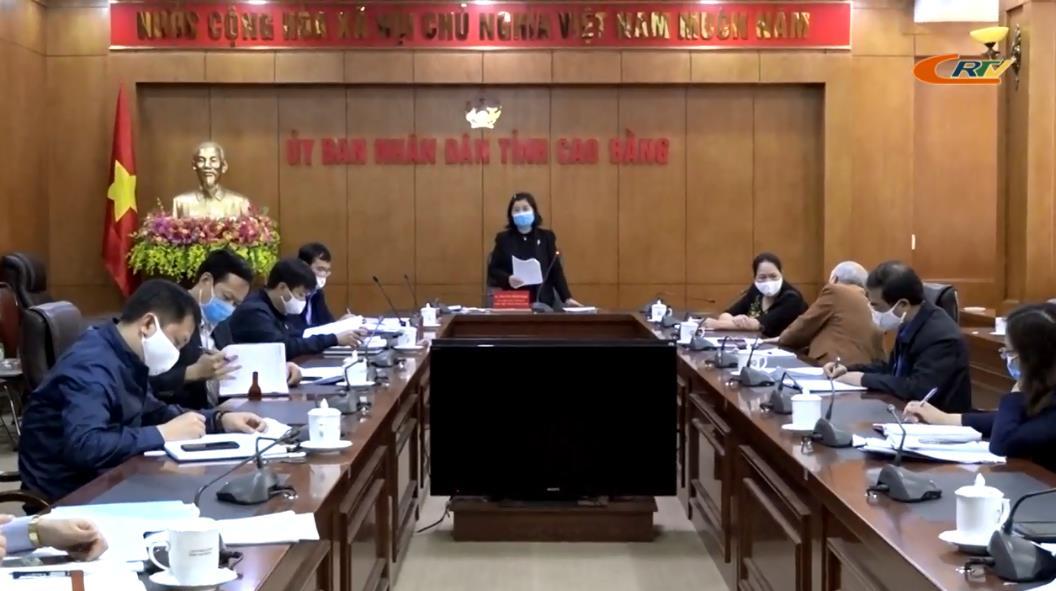 Tổ Biên tập KT - XH UBND tỉnh: Họp lấy ý kiến hoàn thiện dự thảo Báo cáo KT - XH phục vụ Đại hội Đảng bộ tỉnh lần thứ XIX