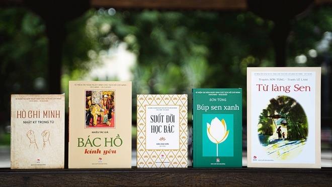 Triển lãm trực tuyến sách về Chủ tịch Hồ Chí Minh