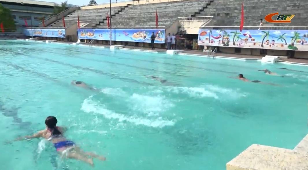 Trung tâm Đào tạo, Thi đấu TT&NT tỉnh: Khai trương mùa bơi năm 2020