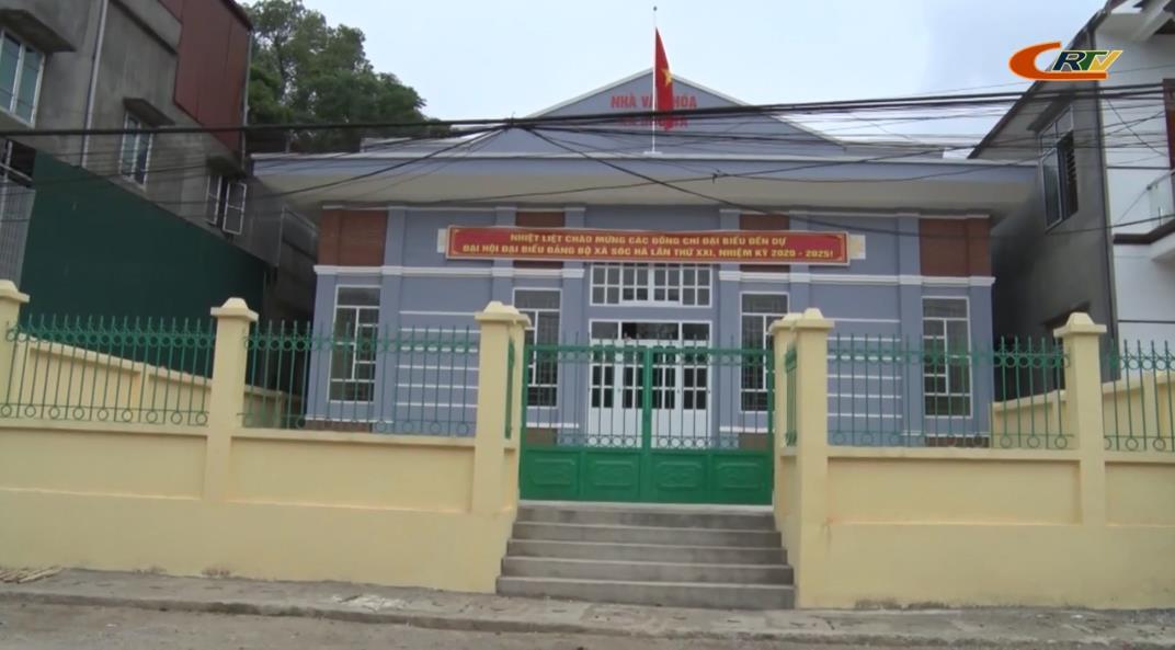 Xã Sóc Hà về đích nông thôn mới