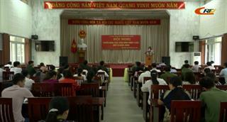 Trùng Khánh: Hội nghị triển khai các văn bản pháp luật quý II/2020