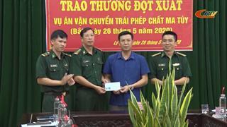 Hạ Lang: Trao thưởng đột xuất cho lực lượng bắt đối tượng vận chuyển ma túy
