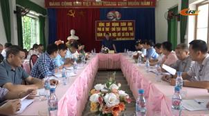 Chủ tịch UBND tỉnh Hoàng Xuân Ánh làm việc với xã Yên Thổ (Bảo Lâm)
