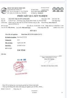Cô gái vượt đường mòn từ Trung Quốc về TP.HCM âm tính lần 2 với SARS-CoV-2