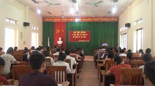 Hà Quảng: Khai giảng lớp bồi dưỡng lý luận chính trị cho 102 quần chúng ưu tú