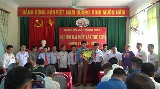 Hạ Lang: Đại hội Đảng bộ xã Thống Nhất lần thứ nhất, nhiệm kỳ 2020 - 2025