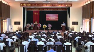 Thạch An: Hội nghị cán bộ chủ chốt thực hiện quy trình công tác cán bộ khóa XX, nhiệm kỳ 2020 - 2025