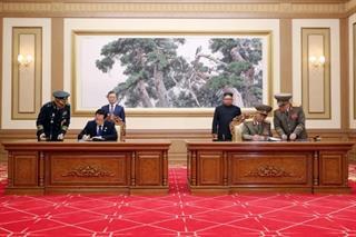 Triều Tiên cảnh báo hủy bỏ thỏa thuận quân sự với Hàn Quốc