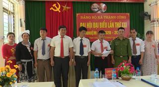 Nguyên Bình tập trung chuẩn bị tốt cho Đại hội Đảng bộ huyện lần thứ XIX,  nhiệm kỳ 2020 - 2025