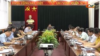 Họp Tiểu ban Tuyên truyền, khánh tiết Đại hội Đảng bộ tỉnh lần thứ XIX, nhiệm kỳ 2020 - 2025