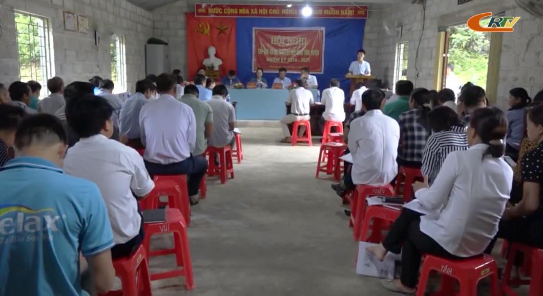 Đại biểu HĐND tỉnh tiếp xúc cử tri huyện Quảng Hòa