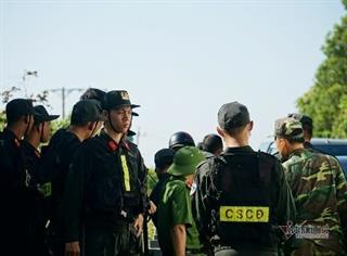 Nhiều lực lượng tham gia truy lùng đối tượng truy nã