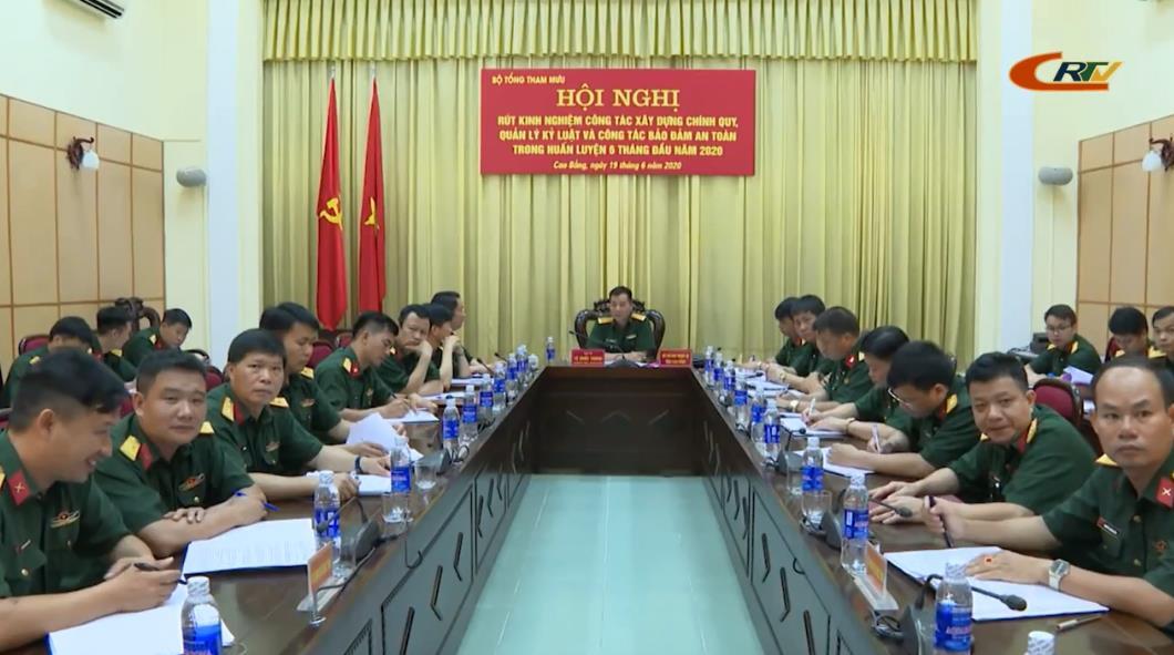 Bộ Quốc phòng: Hội nghị toàn quân rút kinh nghiệm công tác xây dựng chính quy, quản lý kỷ luật