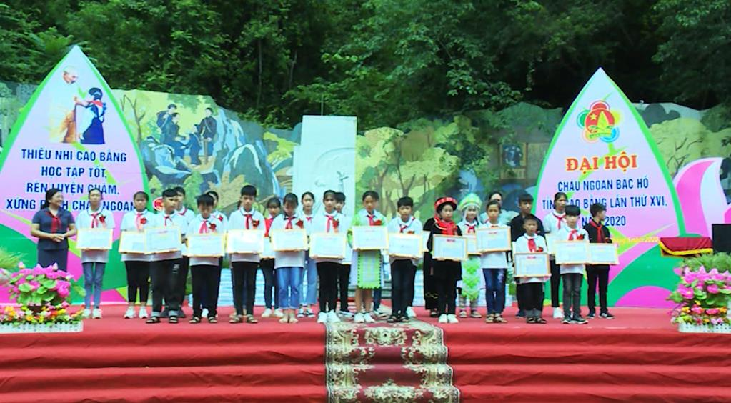 Đại hội Cháu ngoan Bác Hồ tỉnh Cao Bằng lần thứ XVI