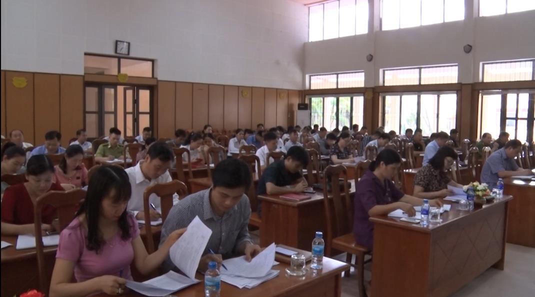 Hà Quảng: UBND huyện triển khai nhiệm vụ công tác 6 tháng cuối năm 2020