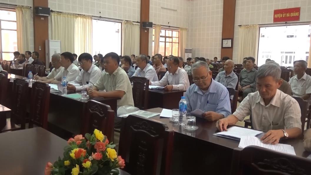 Hà Quảng: Hội nghị cung cấp thông tin tuyên truyền cho người có uy tín trong đồng bào dân tộc thiểu số