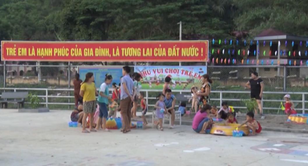 Sân chơi bổ ích cho trẻ em từ nguồn xã hội hóa