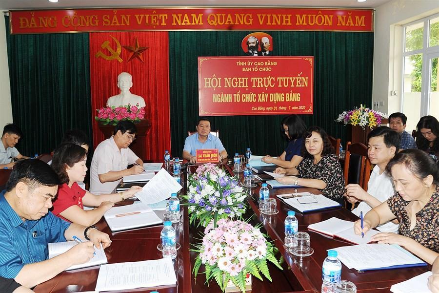 Ban Tổ chức Trung ương triển khai nhiệm vụ 6 tháng cuối năm 2020