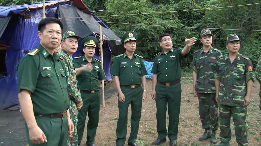 Bộ Tư lệnh BĐBP kiểm tra công tác ngăn chặn xuất nhập cảnh trái phép, phòng, chống dịch Covid-19 tại Cao Bằng