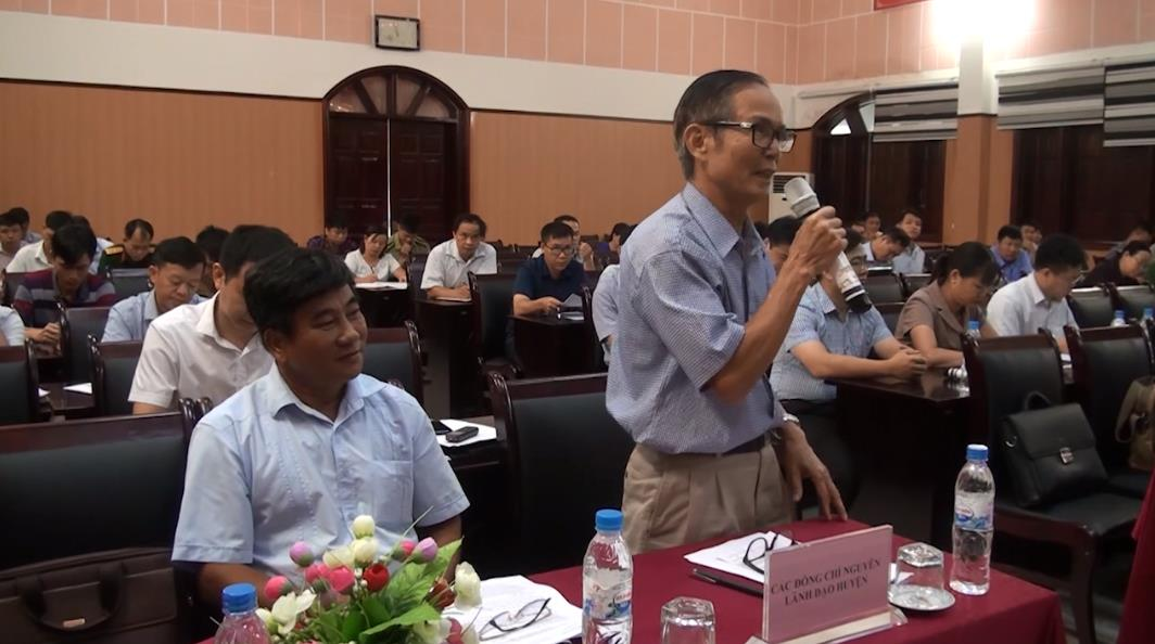 Bảo Lâm: Hội nghị lấy ý kiến góp ý vào dự thảo Báo cáo chính trị trình Đại hội đại biểu Đảng bộ huyện khóa V, nhiệm kỳ 2020 - 2025