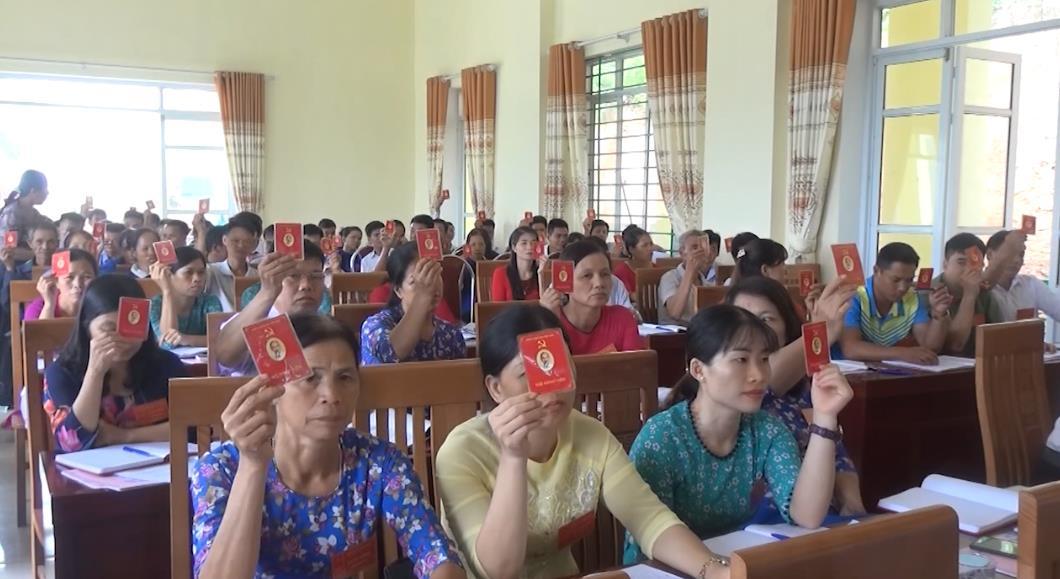 Hà Quảng: Hoàn thành đại hội đảng cấp cơ sở nhiệm kỳ 2020 - 2025