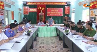 Hà Quảng: Giao ban khối nội chính 6 tháng đầu năm 2020