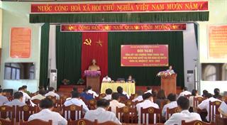 Bảo Lạc: Tổng kết các chương trình trọng tâm thực hiện Nghị quyết Đại hội Đảng bộ huyện lần thứ XX, nhiệm kỳ 2015 - 2020