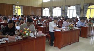 Hạ Lang: Hội nghị Ban Chấp hành Đảng bộ huyện lần thứ 28, khoá XV (mở rộng)