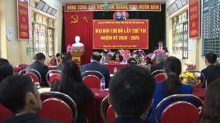 Thạch An: Tổ chức thành công đại hội các đảng bộ, chi bộ cơ sở