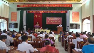 Kỳ họp thứ 10 HĐND huyện Bảo Lạc khóa XIX, nhiệm kỳ 2016 - 2021