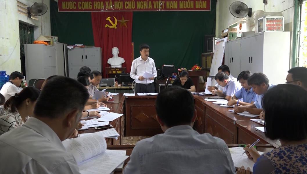 Quảng Hòa: Xã Quảng Hưng đạt 14/19 tiêu chí nông thôn mới