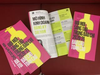 Ra mắt sách về đổi mới sáng tạo trong báo chí
