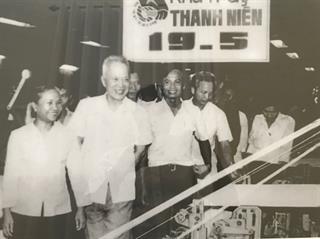 Đồng chí Nguyễn Hữu Thọ - Nhà trí thức yêu nước vĩ đại
