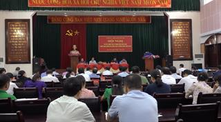 Bảo Lâm: Huyện ủy, UBND huyện triển khai nhiệm vụ 6 tháng cuối năm 2020
