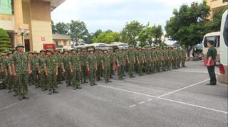 Bộ Chỉ huy BĐBP Cao Bằng: Tiếp nhận học viên thực tập tăng cường phòng, chống dịch Covid-19